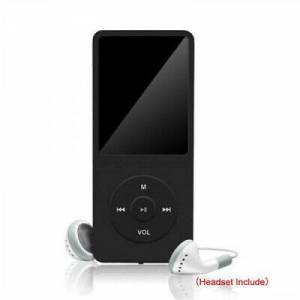 MP3/MP4 Player 64 GB Music Player 1.8'' Screen with FM Radio Voice Recorde