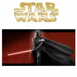 Star Wars: Darth Vader Glass Poster