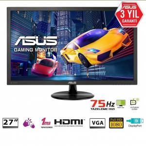 ASUS 27 VP278QG Gaming, LED, FreeSync 1920x1080 1ms, 75hz-OUTLET