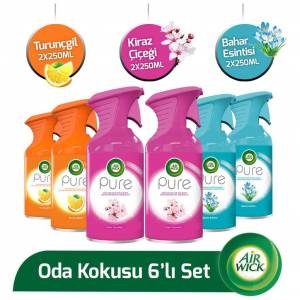 Air Wick Pure Manuel Sprey 6 lı Set