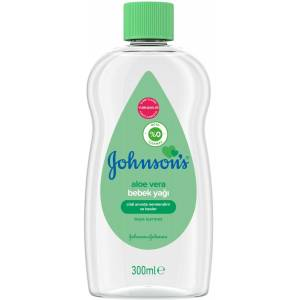 Johnsons Baby Bebek Yağı Cottontouch 300Ml Aleo Vera