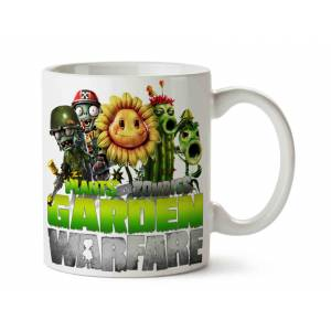 Garden Warfare Plants Vs Zombies Porselen Kupa Bardak