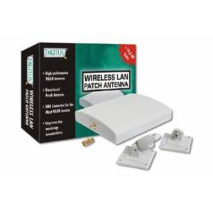 DN-70102 Digitus Wireless Kablosuz LAN 10 dBi 2.4GHz Indoor Directional Patch Antenna