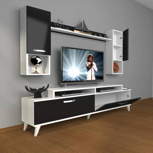 DECORAKTİV EKOFLEX 5DA MDF RETRO TV ÜNİTESİ TV SEHPASI TV UNİTESİ