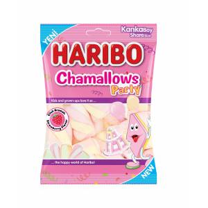Haribo Chamallows Party 70 gr  24 Adet