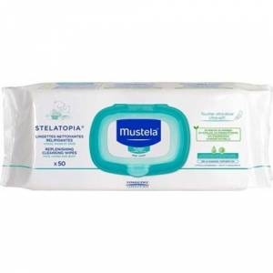 Mustela Replenishing Cleansing Wipes (50 Wipes)