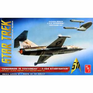 AMT 953 1/48 Star Trek F104 Starfighter