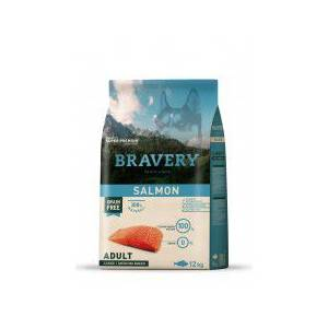 BRAVERY ADULT MEDİUM-LARGE BREED SALMON KÖPEK MAMASI 12KG