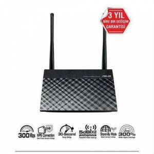 Asus RT-N12+ 300Mbps 4port 2Adet 5dbi AP/Router Universal Repeater