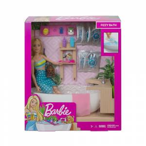 Barbie Wellness Barbienin Spa Günü Oyun Seti GJN32