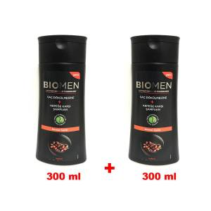 Biomen 300ml+300ml Şampuan Normal Saçlar