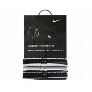 Nike Saç Bandı NJNE4101 Elastic Hairbands 9Pk 2.0 White Black