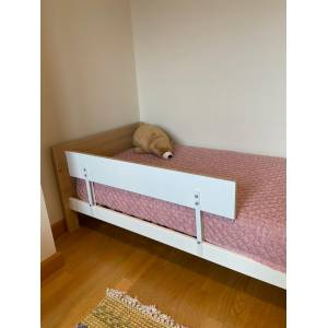 Agubugu Baby Wooden Bed Railing 12045 cm