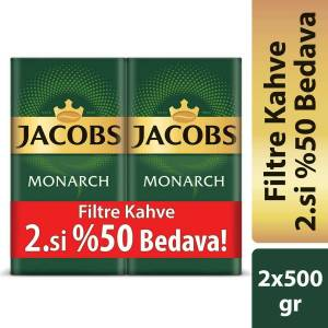 Jacobs Monarch Filtre Kahve 2 x 500 gr