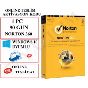 NORTON 360 90 GÜN 1 PC