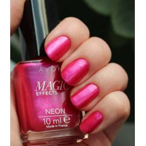 AVON MAGIC EFFECTS NEON OJE - STRIKING PINK ( KOYU PEMBE )