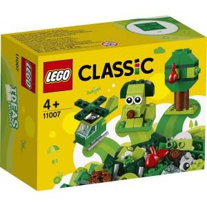 Lego Classic Green Bricks - 11007