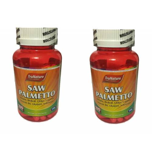 Trunature Saw Palmetto Complex 450 mg 100 Kapsül 2 kutu