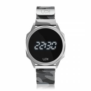 UPWATCH ICON SILVER CAMOUFLAGE LOOP BAND