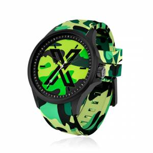X WATCH CAMOUFLAGE GREEN