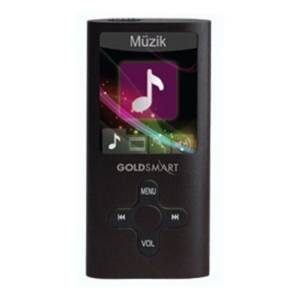 Goldmaster GoldSmart MP4-224 Siyah 8GB MP3 Çalar