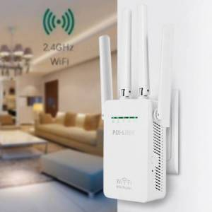 PIX-LINK WR13 ACCESS POINT & REPEATER 300Mbps HD9106 4 ANTENLİ