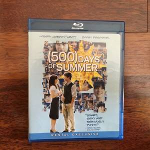500 Days of Summer Bluray ( TR Seçenek Yoktur)