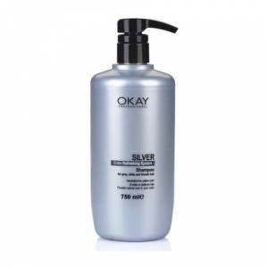 OKAY KERATIN SMOOTH SILVER ŞAMPUAN 750ML