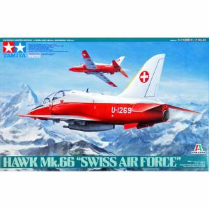 TAMIYA 89784 1/48 HAWK MK.66 SWİSS AİR FORCE