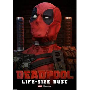 Deadpool 1:1 Life Size Bust Sideshow Collectibles