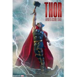 Thor Statue Avengers Assemble Sideshow Collectibles