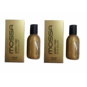 Mossa Erkek Parfüm Golden Magic 100 ML x 2 ADET