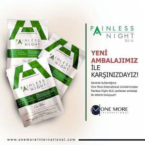 Onemore Painless Night Glu 25 ADET 2019 Bandrollü--one more