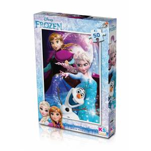 Ks Games Frozen Puzzle 50'li - FRZ709
