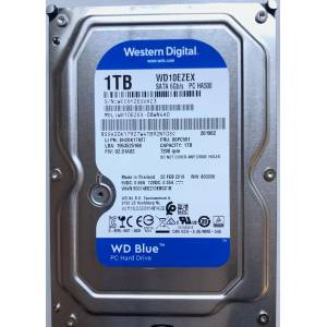 Western Digital WD10EZEX 1TB Blue 7200RPM SATA 6.0Gb/s 3.5inch Hard Disk