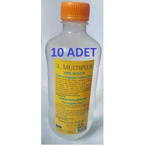 MULTIPLUS STERİL DİSTİLE SAF SU 1000 ML X 10 ADET