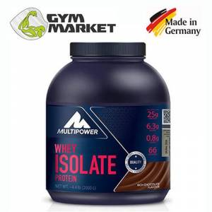 Multipower Whey Isolate İzole Protein Tozu 2000 gr + 3 Hediye