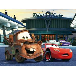 Trefl At The Gas Station Cars 30 Parça Puzzle 18137