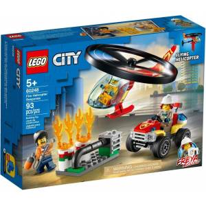 Lego City 60248 Fire Helicopter Response