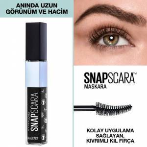 Maybelline New York Snapscara Maskara - Pitch Black (Siyah)