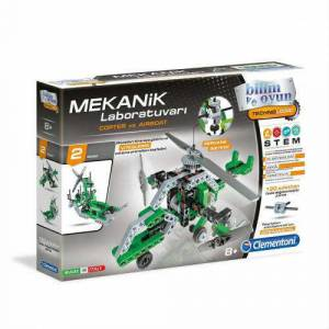 CLEMENTONİ COPTER-AIRBOAT-MEKANİK LABORATUARI 64299