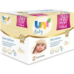 Uni Baby Sensitive Islak Havlu 56'lı 24'lü Set