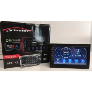 DRİVETEC 7ınc DABBLE TEYP BLUETOOTH-MP5-USB-SD+ PARK KAMERA