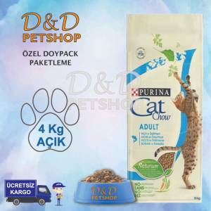 Purina Cat Chow Adult Tuna Somon Kedi Maması 4 Kg AÇIK