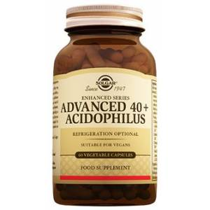 SOLGAR Advanced 40+ Acidophilus 60 Kapsül SKT:03/2021