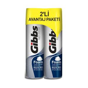 Gibbs Regular Tıraş Köpüğü 2x200ml
