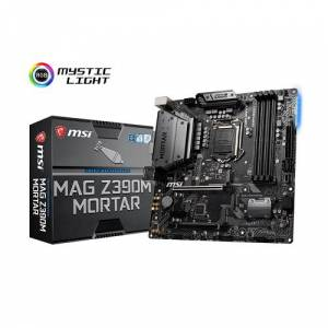 MSI 1151p v2 Z390 DDR4 MAG Z390M MORTAR 4x Sata 2X M2/X4 HDMI DVI DisplayPort Intel HD Graphics 3x