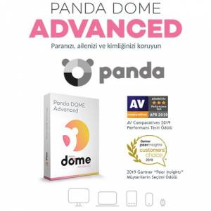 Panda Dome Advanced Security 3 Kullanıcı 1 Yıl