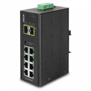 PL-IGS-10020MT Endüstriyel Tip Yönetilebilir Switch Industrial Managed Switchbr8-Port 101001000Bas