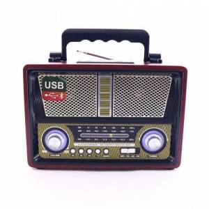 Kemai MD1800BT Retro Nostalji Radyo Bluetooth  FM USB SD